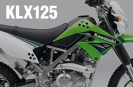 [KLX125]KXシリーズと共通グラフィックを採用した2014年モデルが登場