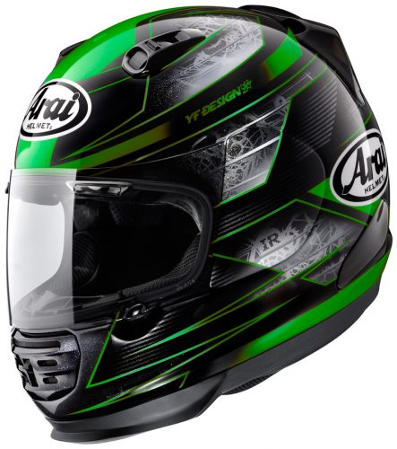 Arai Helmet RAPIDE IR CHRONUS GREEN