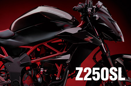 [Z250SL]Z250の単気筒バージョンが正式発表!