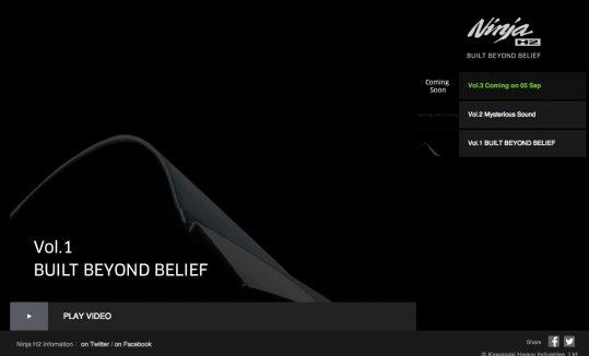 Ninja H2 BUILT BEYOND BELIEF