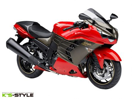 Ninja ZX-14R ABS 30th LIMITED EDITION レプリカ by K's-STYLE