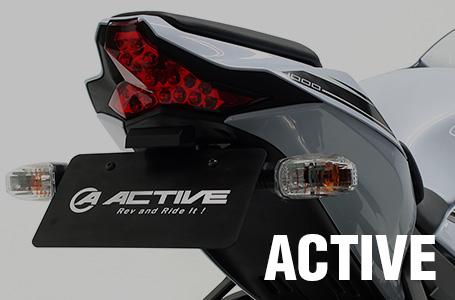 アクティブ Ninja ZX-10R ABS(16〜)用 フェンダーレスキット