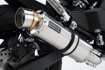BEAMS Z125 PRO用 R-EVO ステンレスサイレンサー