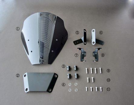 ケイズ・スタイル Z125/PRO用スクリーンキット