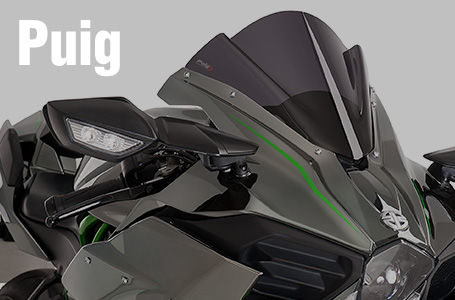 Puig RACING SCREEN(Ninja H2/H2R用)