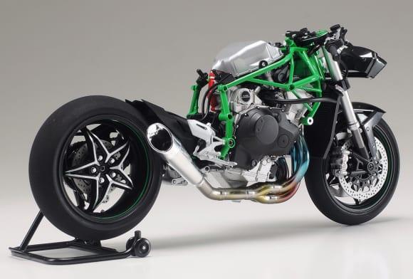 タミヤ 1/12 オートバイシリーズ「カワサキ Ninja H2R」