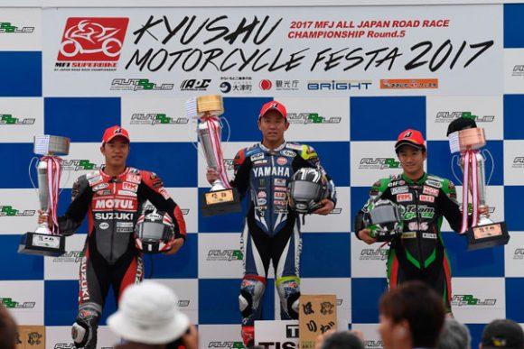 全日本ロードレース選手権 第5戦 九州モーターサイクルフェスタ 2017