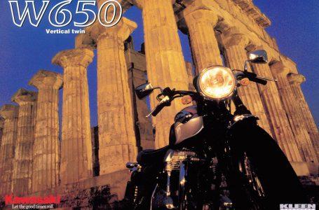 2001年 W650カタログ
