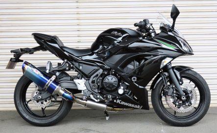 BEET Ninja 650用 NASSERT Evolution TypeⅡ フルエキゾーストマフラー