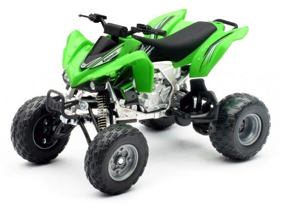 青島文化教材社 1/12 完成品バイク Kawasaki KFX450R
