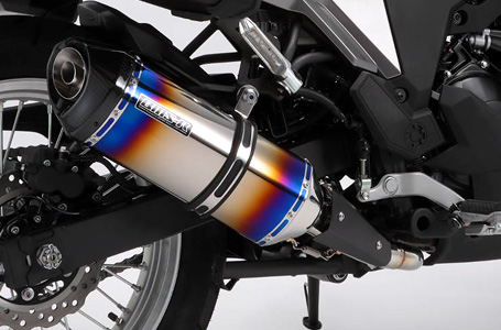 BEAMS VERSYS-X250 MUFFLER