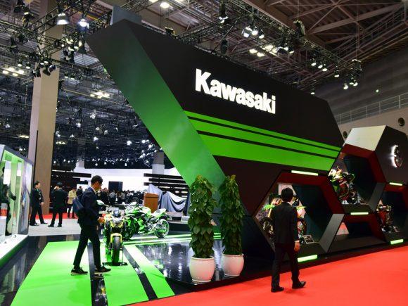 東京モーターショー2017 カワサキブース