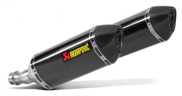 アクラポヴィッチ  Z1000(17〜)用 カーボン製スリップオンマフラー