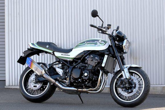 TRICKSTAR Z900RS用 スリップオンマフラー IKAZUCHI