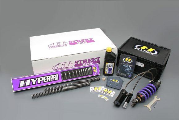 ハイパープロ Z900RS用ストリートボックス