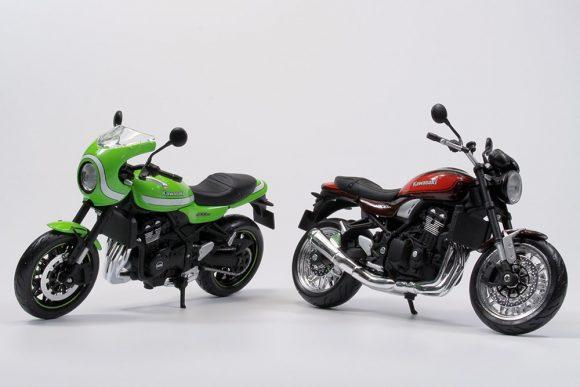アオシマ 1/12 完成品バイクシリーズにZ900RS & Z900RS CAFE