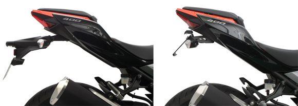 アクティブ Ninja 250/400(18)用 フェンダーレスキット
