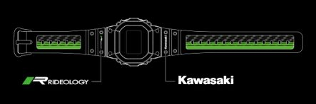 CASIO G-SHOCK(Kawasaki・RIDEOLOGYロゴ入り非売品)