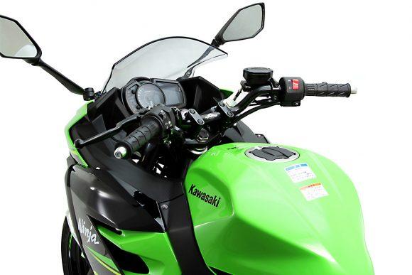 ハリケーン Ninja 250/400用バーハンドルキット