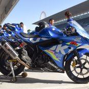 GSX-R150スズキアジアチャレンジ レーサー