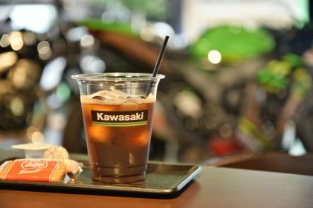 カワサキ プラザ前橋 コーヒーサービス