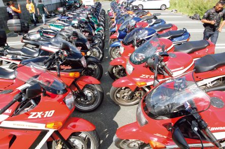 Kawasaki ZX-10 30th Anniversary in 浜松
