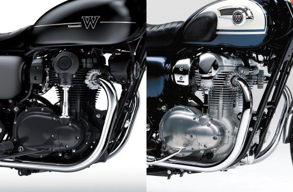 W800 エンジン比較