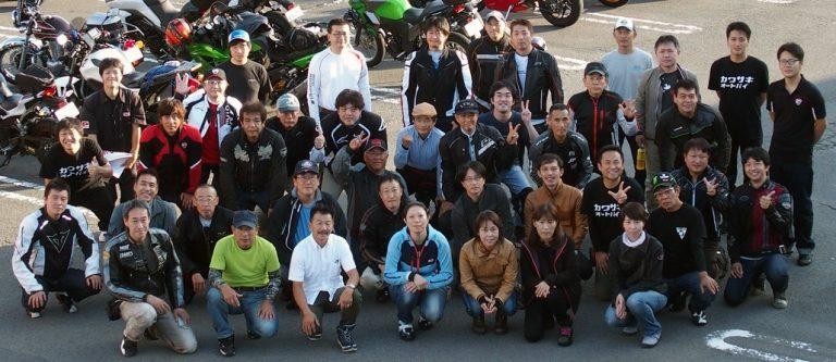 カワサキプラザ焼津&PADDOCK合同ツーリング