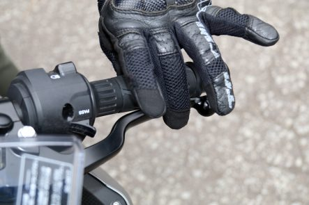 Ninja 400(2018年モデル) レバー操作性