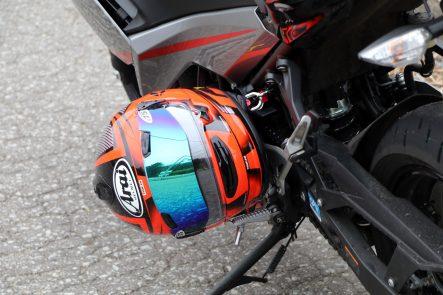 Ninja 400(2018年モデル) ヘルメットホルダー