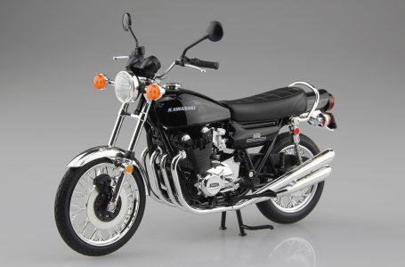 青島文化教材社 1/12 完成品バイク KAWASAKI 900Super4(Z1) ブラック