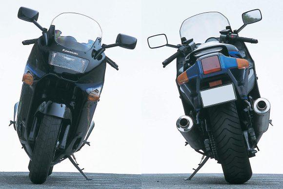 1990 ZZR1100(C1) 前後ビュー