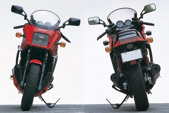 GPZ900R(A13) 前後