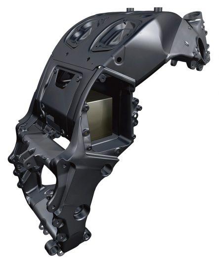 ZZR1400フレーム