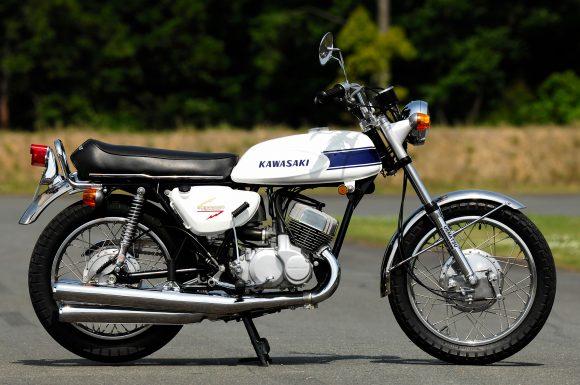 1969 500SS マッハⅢ 右横