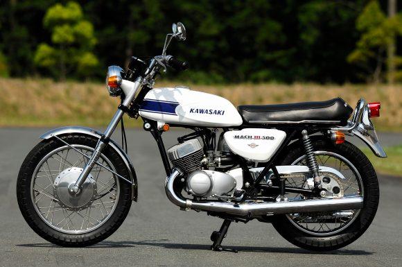 1969 500SS マッハⅢ 左横