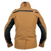 KUSHITANI フィンジャケット K-2333 ブラウン・背面