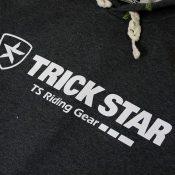 トリックスター プルオーバーパーカー 胸ロゴ
