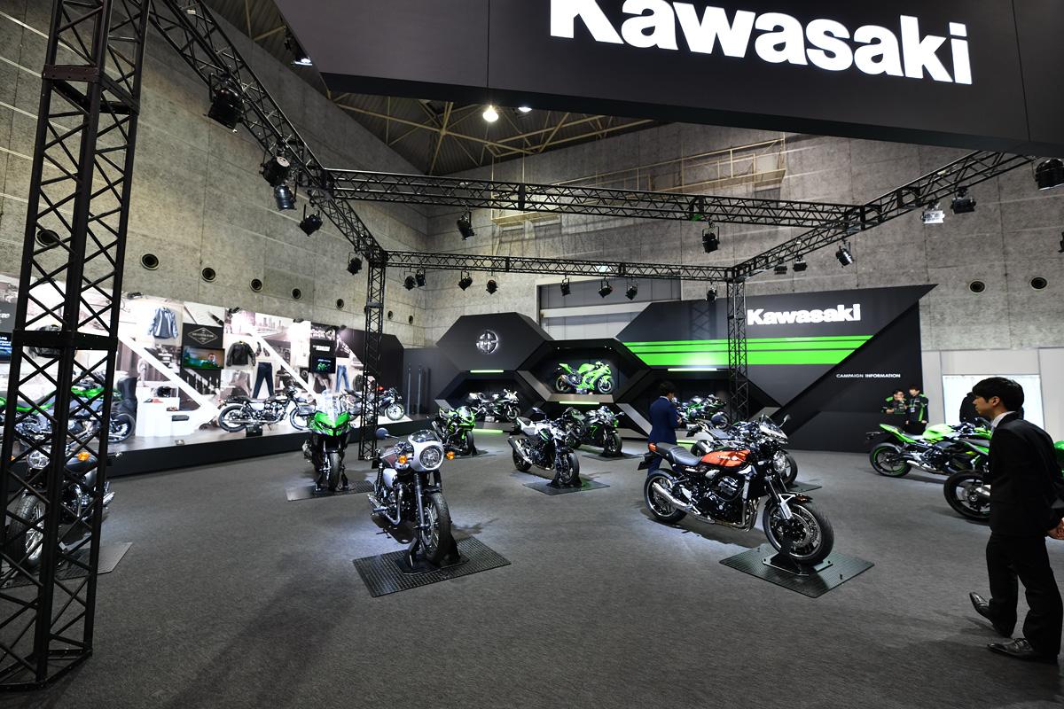 大阪モーターサイクルショー2019 カワサキブース