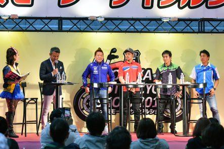 大阪モーターサイクルショー2019 MFJモーターサイクルスポーツステージ