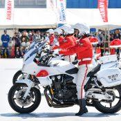 東京モーターサイクルショー 2019 白バイデモ