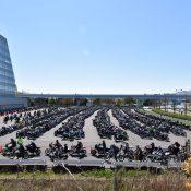 東京モーターサイクルショー 2019 駐輪場