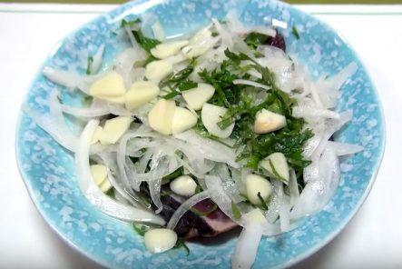 カツオの塩タタキ