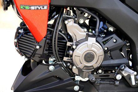 2016 Z125(BR125G) エンジン