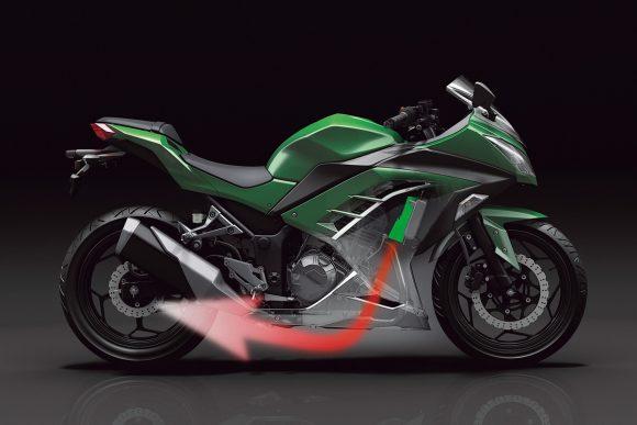 2014年モデル Ninja 250(EX250L) エアマネージメント