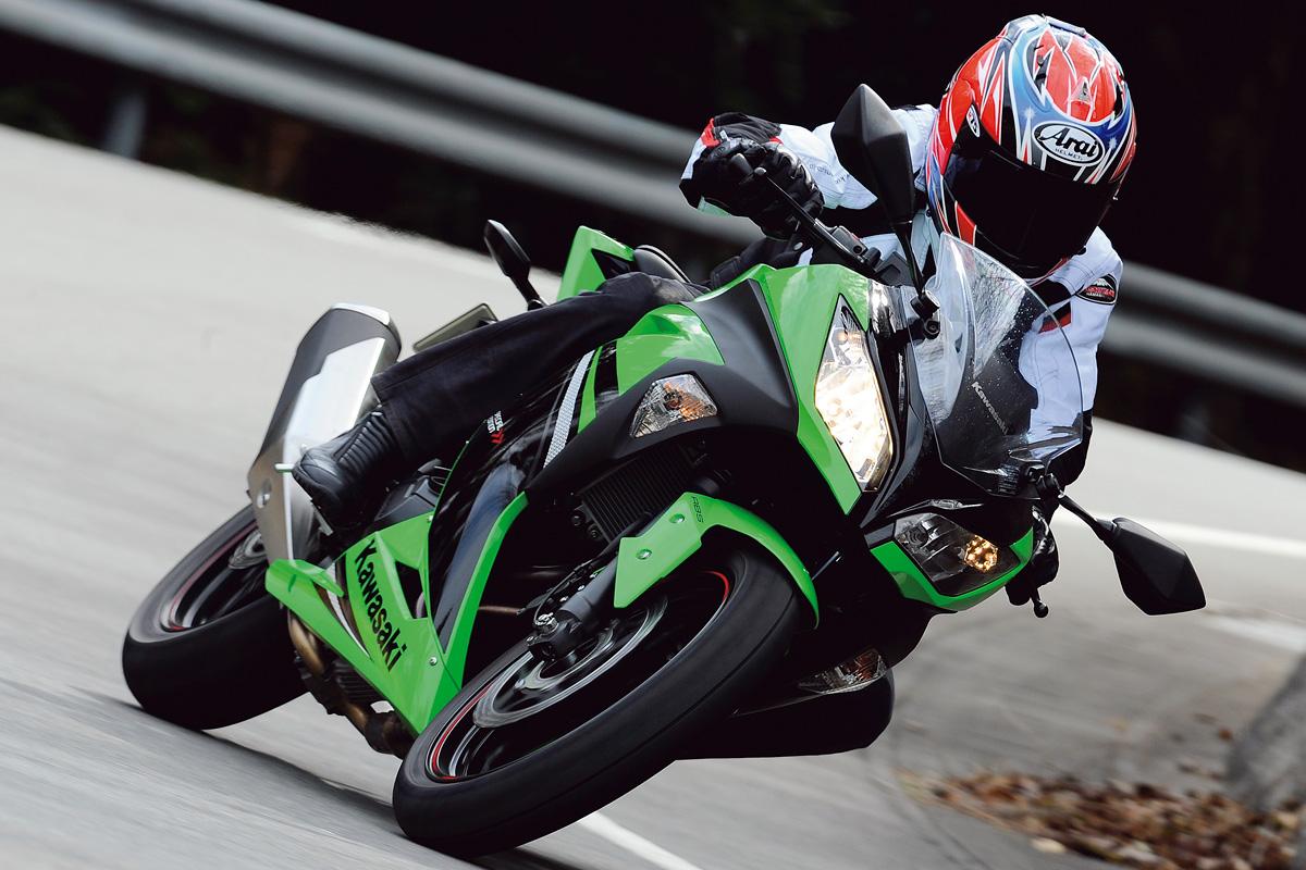 2014年モデル Ninja 250(EX250L) 試乗インプレッション