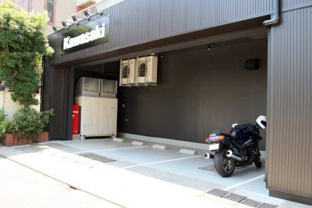 カワサキ プラザ東京大田 駐車スペース
