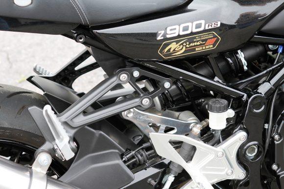 Z900RS用スリップオンマフラー by ノジマエンジニアリング