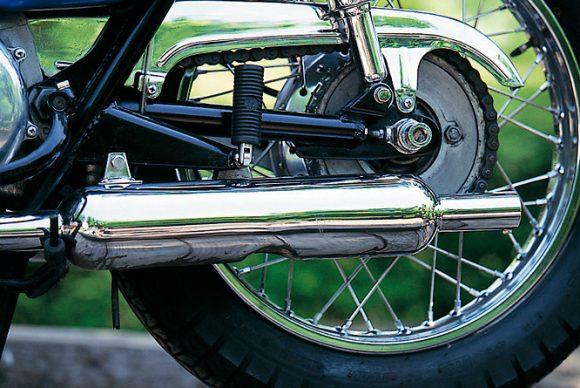 1968 650-W1スペシャル(W1S) キャブトンマフラー
