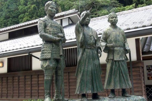吉田松陰の銅像